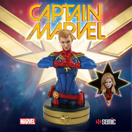 Captain Marvel buste