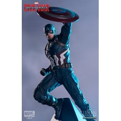 Captain America 1/10 statue - Captain America : Civil War