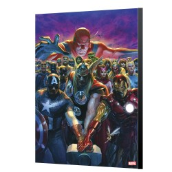 Avengers 10 - Alex Ross - Avengers wood panels collection