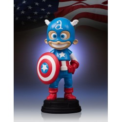 CAPTAIN AMERICA BY SKOTTIE YOUNG STATUE