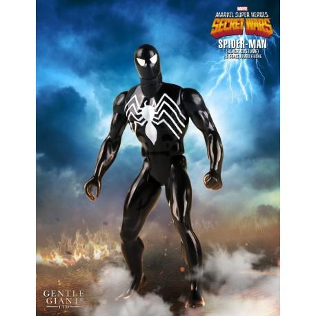 MARVEL SECRET WARS - SPIDER-MAN BLACK COSTUME KENNER JUMBO FIGURE
