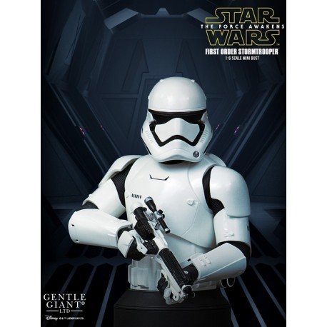 SW7 - STORMTROOPER FIRST ORDER MINI BUST