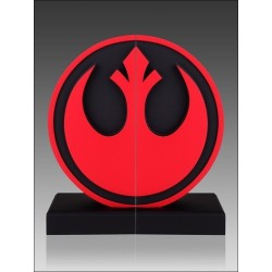 STAR WARS REBEL SEAL LOGO BOOKENDS