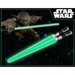 LIGHTSABER CHOPSTICKS YODA LIGHT UP VERSION