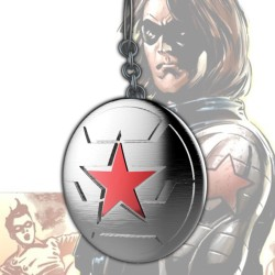 Winter Soldier Logo Keychain