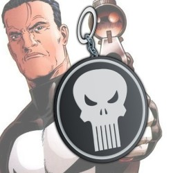 Punisher Logo Keychain