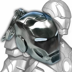 Iron Man helmet Mark II - Keychain