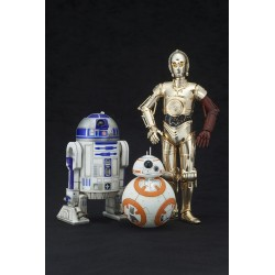 R2-D2 & C3PO WITH BB-8