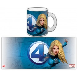 MUG MR.FANTASTIC - INVISIBLE WOMAN SERIE 1
