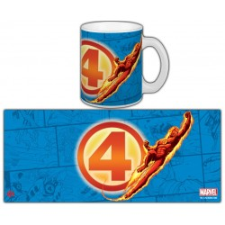 MUG MR.FANTASTIC - HUMAN TORCH SERIE 1