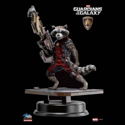ROCKET RACCOON RED COSTUME 1/9 ACTION VIGNETTE