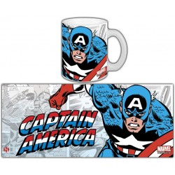 MUG MARVEL RETRO SERIE 1 - CAPTAIN AMERICA