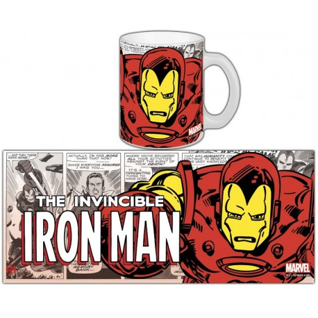 MUG MARVEL RETRO SERIE 1 - IRON MAN