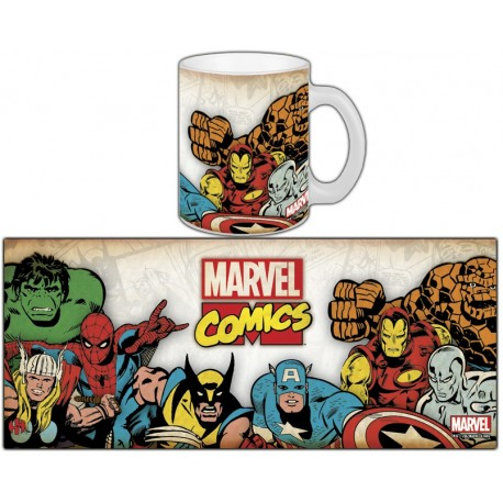 MUG MARVEL RETRO SERIE 1 - MARVEL GROUP RETRO