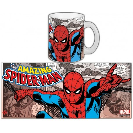 MUG MARVEL RETRO SERIE 1 - SPIDER-MAN
