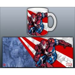 MUG IRON MAN - IRON PATRIOT