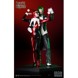 Harley Quinn & The Joker Art Scale 1/10 Deluxe - Suicide Squad