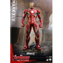 MARK XLV 1/4 SCALE MMS FIGURE - AVENGERS A.O.U  - HOT TOYS