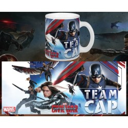 MUG C.A CIVIL WAR: TEAM CAP