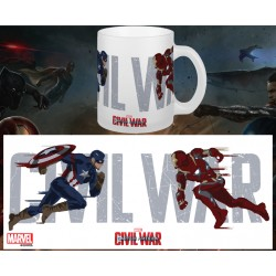 MUG C.A CIVIL WAR: RUNNING TO BATTLE