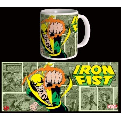 MUG IRON FIST - RETRO - SERIE 2