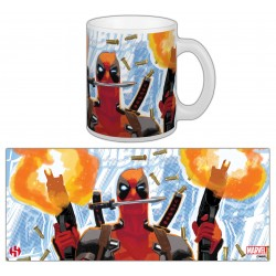 "MUG DEADPOOL 03 ""GUERILLA"""