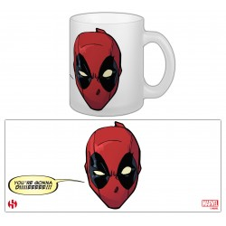 "MUG DEADPOOL 07 ""GONNA DIE"""