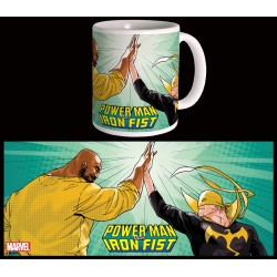 MUG POWERMAN & IRON FIST - HIGH FIVE -