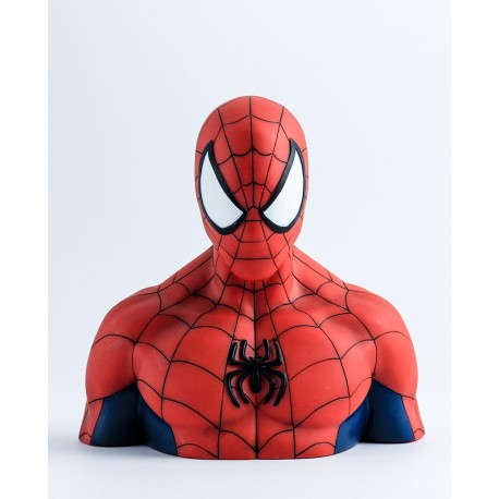 Spider-Man - deluxe bust bank