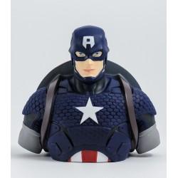 Captain America deluxe bust bank