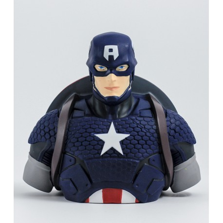 Captain America deluxe bust bank