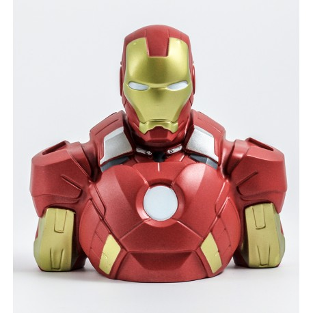 Iron Man - deluxe bust bank