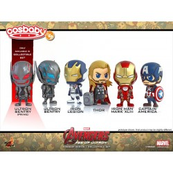 COSBABY SET OF 6 - AVENGERS A.O.U