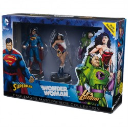 JUSTICE LEAGUE SET N°1 SUPERMAN WONDER WOMAN LEX LUTHOR