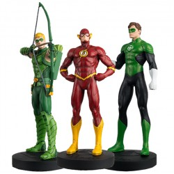 JUSTICE LEAGUE SET N°2 GREEN ARROW FLASH GREEN LANTERN