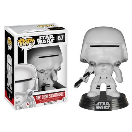 POP STAR WARS: THE FORCE AWAKENS FIRST ORDER SNOWTROOPER