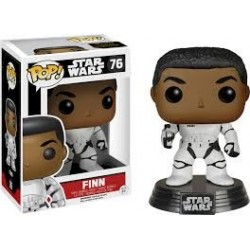 POP STAR WARS: THE FORCE AWAKENS  STORMTROOPER FINN WITH BLASTER