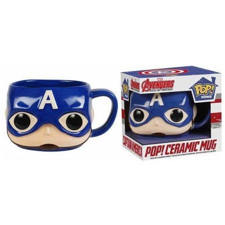 CAPTAIN AMERICA MUG POP HOMEWARES