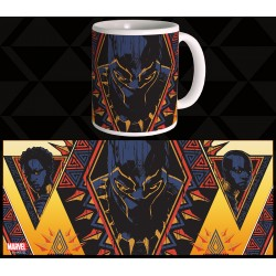 BLACK PANTHER MUG 03 - TRIBAL