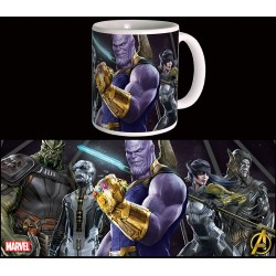 Avengers : infinity War - The Black Order Mug