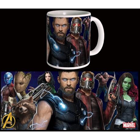 Avengers : infinity War - Guardians and Thor Mug