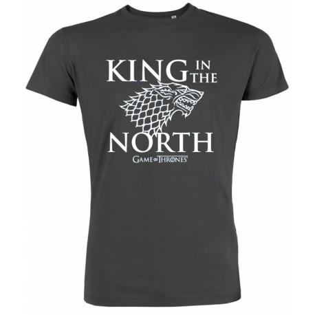 Game of thrones - House Stark - Men T-Shirt - Black