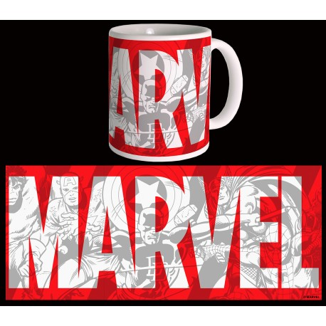 Mug Marvel big logo