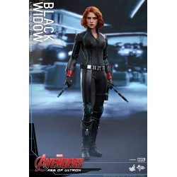 BLACK WIDOW 1/6 MMS FIGURE - AVENGERS A.O.U - HOT TOYS