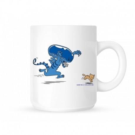 Mug Alien cute cat