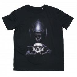 Tshirt Alien Skull