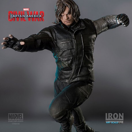 WINTER SOLDIER 1/10 STATUE - CIVIL WAR - IRON STUDIOS