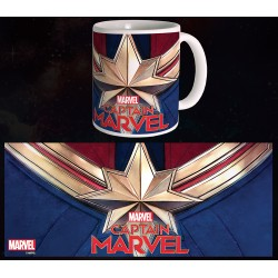 Mug Captain Marvel - Logo