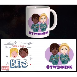 Mug Captain Marvel - BFFS