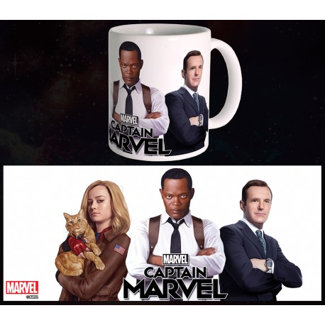 Mug Captain Marvel - Trio